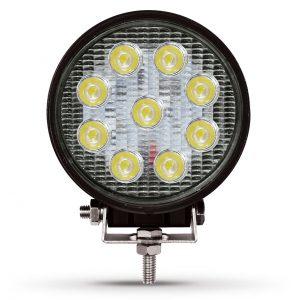 Фара светодиодная 27W круглая