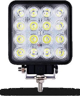 Фара светодиодная 48W квадратная BELLA S48